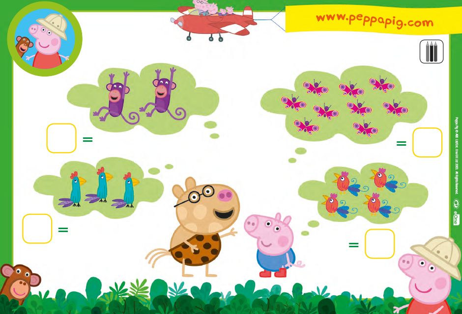 Activities Peppa Pig Official Site Welcome To The Activities Page