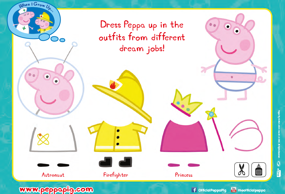 photo relating to Peppa Pig Printable named Routines Peppa Pig Formal Website Welcome towards the